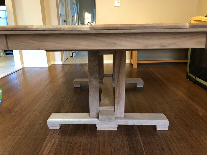 Walnut Dining Room Table